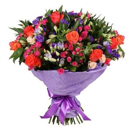 Букет «Цветочное богатство»
