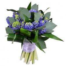 Букет «Голубые гиацинты»