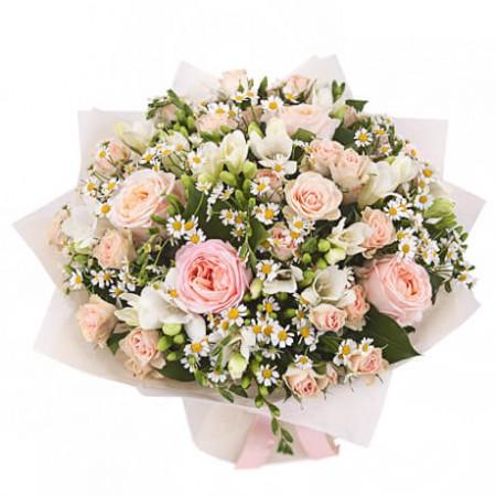 Букет садовых роз «Руан»