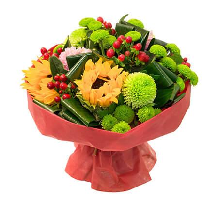 Букет «Цветы счастья»