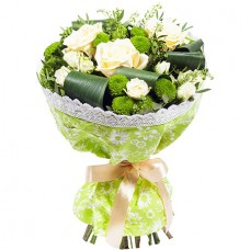 Букет «Зелёный сад»