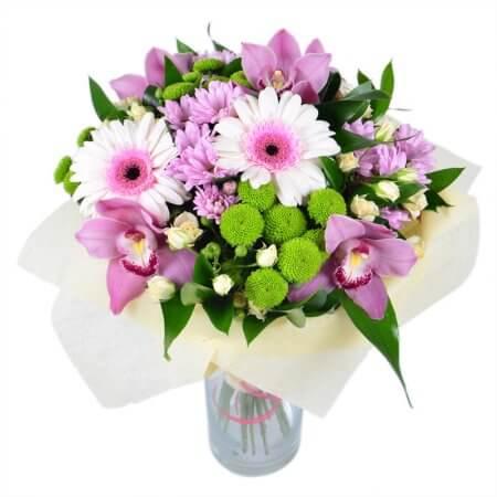 Букет «Милая орхидея»