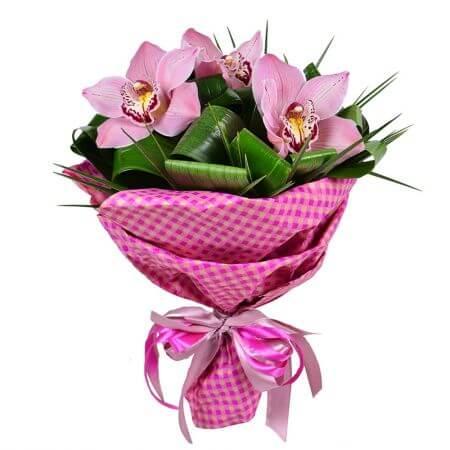 Букет «Розовая улыбка»