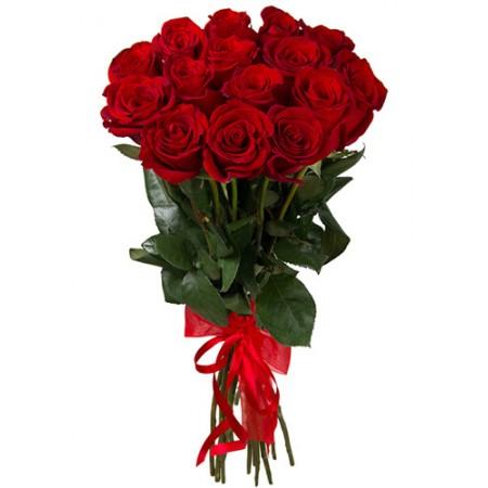 Букет 15 красных роз