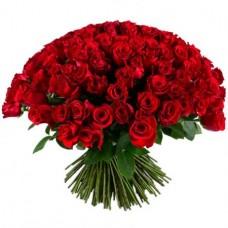 Букет 201 красная роза