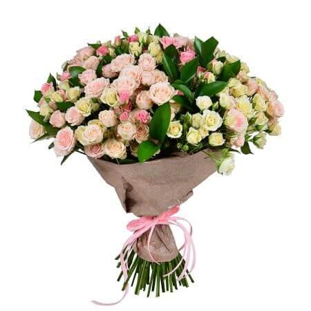 Букет 31 кустовая роза