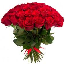 Букет 75 красных роз