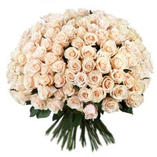 Букет 201 белая роза
