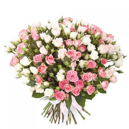 Букет 29 кустовых роз
