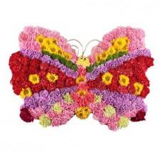 Игрушка из цветов «Бабочка»