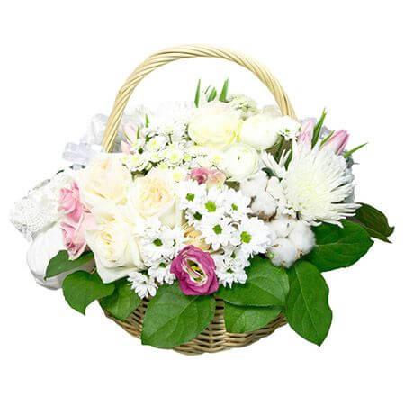 Корзина «Подружка невесты»