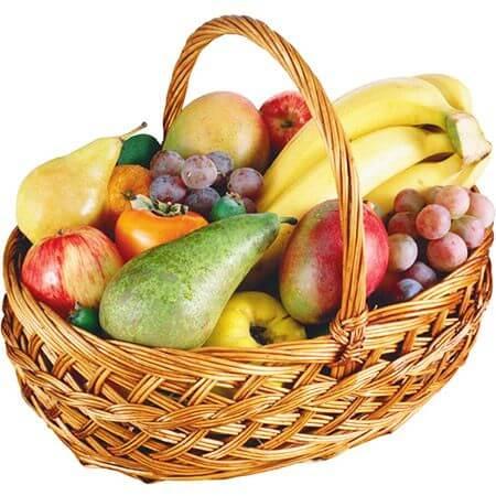 Корзина «Фруктовые сладости»