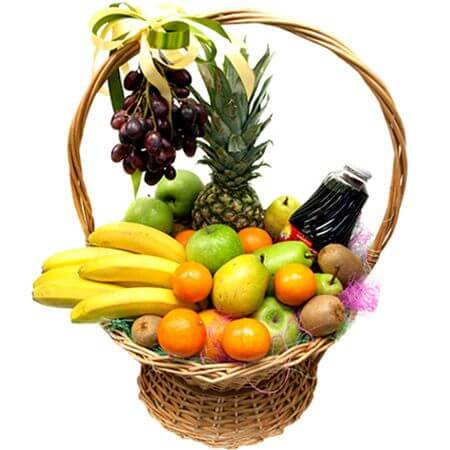 Корзина «Вкусные подарочки»