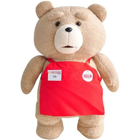 Медведь TED в фартуке