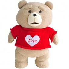 Медведь TED в красном свитере