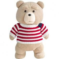 Медведь TED в полосатом свитере