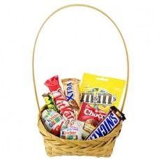 Корзина «Вкусные конфетки»