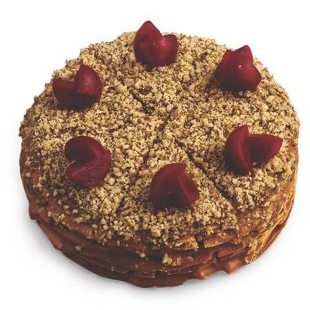 Торт «Клюква»