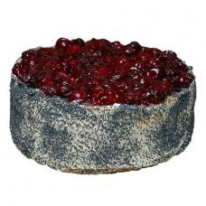 Торт «Маковая вишенка»